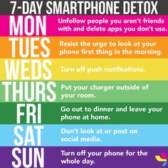 This phone detox schedule will help detach ourselves from those little glowing screens. Let's work together to step away from the phone and instead better our lives and our relationships. Social Media Break, Social Media Detox, Smartphone, Get Healthy, Healthy Mind, Phone Detox, Detox Challenge, Addiction Help, Digital Detox