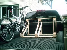 Homemade Bicycle Rack « Inkspeare