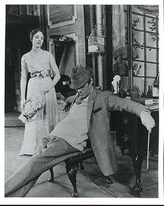 1956 My Fair Lady, Rex Harrison and Julie Andrews