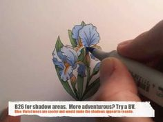 #colouring with Debbie Olson