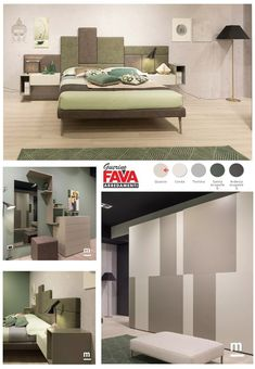 #moretticompact realizzazione camera matrimoniale. Letto con testata boiserie Tetris imbottita e armadio con anta scorrevole Track bicolore. #favamobili #favaguerino #camera #cameretta #nightcollection #design Bedroom Closet Design, Bedroom Furniture Design, Bed Furniture, Master Bedroom, Home Design Decor, House Design, Modern Beds, Bed Back, Kid Beds