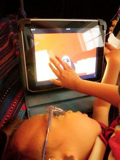 Babies with iPads has a grant available to give one iPad away to a special needs baby! *pinned by wonderbaby.org