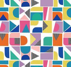 pattern | geometric shapes | Jiah Harrison of Elephant & Rose