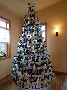Let us build a wine bottle tree for you...