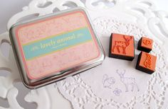 Lovely Animal Rubber Stamp Collection - Stationery Heaven - http://www.stationeryheaven.nl/rubberstamps/stempels