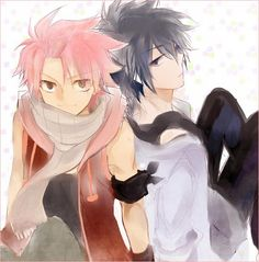 Gray and Natsu, Fairy Tail