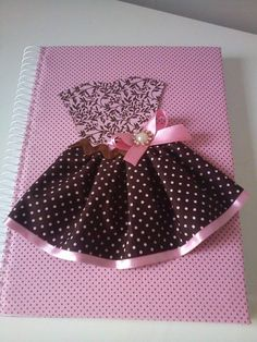 caderno decorado by rose ramos