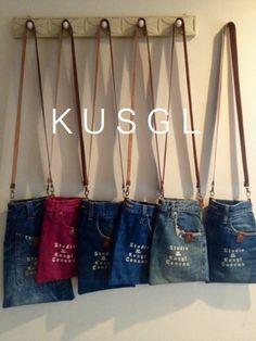 J Bag, Tote Bag, Jean Crafts, Recycled Denim, Denim Bag, Fabric Bags, Diy Dress, Handmade Bags, Purses And Bags