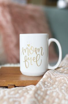 """Cannot personally speak to the """"Mom Fuel"""" myself, but being an Aunt, I see the benefits. Whether you use this for your wine or your coffee. No one will judge. I think we all need a little something to"""