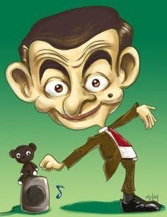 * Mr Bean * (Rowan Atkinson).