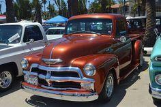 1954 Chevy Truck, Custom Chevy Trucks, Classic Chevy Trucks, Classic Cars, Defender 90, Land Rover Defender, Old Chevy Pickups, Chevrolet 3100, Chevrolet Trucks