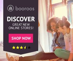 Banner ad by Andy77 for Booroos. #bannerad #graphicdesign #design #shopping