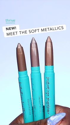 JUST DROPPED: Effortlessly elevate any look with our NEW Brilliant Eye Brightener™ Soft Metallics Collection! Check out our 3 newest shades for a mistake-proof wash of natural, shimmery color in seconds. Beauty Makeup Tips, Beauty Secrets, Beauty Care, Beauty Hacks, Hair Beauty, All Things Beauty, Beauty Make Up, Beauty Inside, Make Eyes Pop