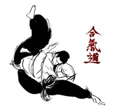 Japanese martial art of peace and harmony with the universe.