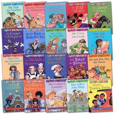 Happy Families - Does anyone else remember these books? I use to love reading these. The series was also turned into a kids TV show .
