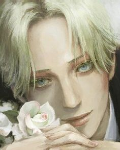 I feel like Gabriel would have a secret love for somewhat feminine things like flowers. Not because he's LGBT(which he is not), not because he's weird(which he is not), but because he has an appreciation for beautiful things despite being a rather twisted individual