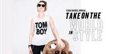 """Wildfang - """"Evan Rachel Would... Take on the World in Style"""" Lookbook"""