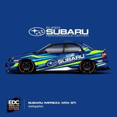Performance Center Super Subaru #usa #EDCGRPHCS #LiveryDesign #subaru #wrx #sti #bloob #perrin #samco #livery #design #designer #paintisdead Subaru Impreza Wrc, Subaru Forester, Wrx Sti, Car Folie, Holden Australia, Vinyl Wrap Car, Hatchback Cars, Car Tuning, Nissan Skyline
