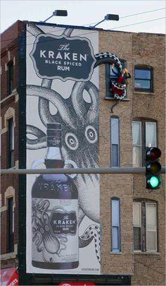 Kraken Rum: Billboard