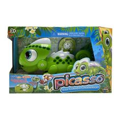 Amazon has the Basic Fun Anipets – Picasso: The Colorful Robo Chameleon marked down from $34.99 to $11.40 and it ships for free with your Prime Membership or any $25 purchase. That is 67% off the retail price! MOVE, AIM & CATCH! – Shoot my tongue out and snap up some treats! WATCH THE COLOR…