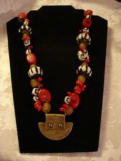 Tribal necklace by JBaskarts