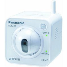 maleelectronics,bags,and accessories: Panasonic BL-C230A Wireless Network Camera - Security Cameras
