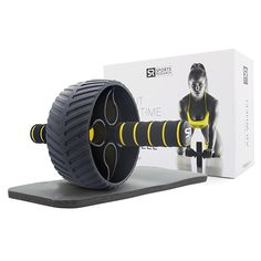 Sweet Sweat Portable Ab Roller Abdominal Exercise Wheel for Core Strength Training with Knee Pad ** You can find out more details at the link of the image. (This is an affiliate link) Best At Home Workout, At Home Workouts, Core Workouts, Ab Roller Workout, Core Strength Training, Exercise Wheel, Home Workout Equipment, Fitness Equipment, Ab Wheel