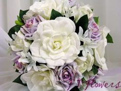 Gardenia's are my favorite flower and when mixed with roses...Perfect!
