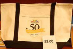 Large MCPL 50th anniversary canvas tote bags - $8.00 #mymcpl #mgcstore