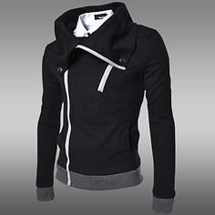 f6003f87a5fa ... from China hoodies female Suppliers  2014 fall and winter clothes new  men s oblique zipper hooded cardigan men s long-sleeved jacket men hoodie  shipping