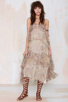 Mes Demoiselles Paloma Tiered Dress