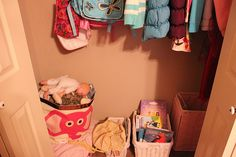 Clear Out the Clutter: The Girls' Closet | Money Saving Mom®