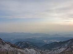 Hiking in Daegu's Palgonsan National Park