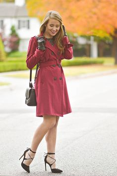 Cut in a classic silhouette, the on-trend and simply beautiful hue of this trench coat make it one of the favorites that I own. Seriously… can you get enough of that color?! | fall fashion | fall style | style ideas for fall | fashion tips for fall || A Lonestar State of Southern