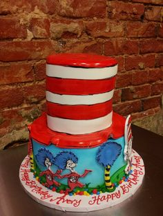I love this Dr. Suess Cake