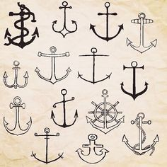 Image result for anchor drawings