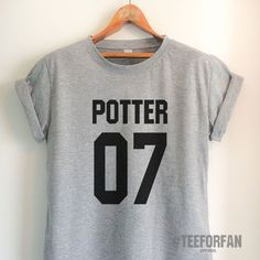Harry Potter Shirts Harry Potter Merchandise Harry Potter Quidditch Jersey t shirts Clothes Top Tee for Women Girls Men