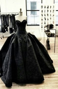 Modest Quinceanera Dress,Sweetheart Ball Gown,Black Prom Dress,Fashion Prom Dress,Sexy Party Dress, New Style Evening Dress