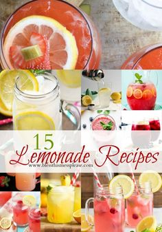 Healthy Recipes :   Illustration   Description  15 Luscious Lemonade Recipes (all non-alcoholic)    Commit to be Fit !    -Read More –   - #Recipes https://healthcares.be/healthy-eating/recipes/healthy-recipes-15-luscious-lemonade-recipes-all-non-alcoholic/