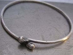 KISS....Sterling Silver Bracelet by Victoria Teague on Etsy