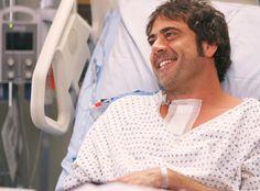 Will Denny Duquette ever be healthy?! Jeffrey Dean Morgan AKA beloved Duquette of Grey's Anatomy ...