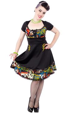PAPERDOLL SEW WHAT DRESS MONSTERS