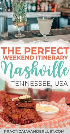 The perfect foodie weekend itinerary to Nashville Tennessee. Where to eat and drink what to do street art attractions the Grand Ole Opry and more. Visit one of the coolest destinations in the USA and eat your way through Music City! Nashville Tennessee, Weekend In Nashville, Nashville Food, Nashville Vacation, Tennessee Vacation, East Tennessee, Nashville Restaurants Downtown, Girls Trip Nashville, Germantown Nashville