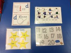 These resources supplement the children's learning as they can use them in any lesson at any time.