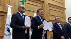 <p></p>  <p>Chihuahua, Chih.- La Comisión Estatal de los Derechos Humanos firmó un convenio con la Comisión Nacional