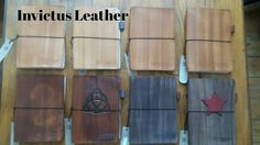 Leather Journals #invictusleather  #leatherjournal  #travellersjournal  #handstitchedleather  #travellersnotebook #leathernotebook  Visit us at: www.facebook.com/invictusleather