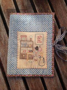 Luna Patch: Amigo invisible 2013: Porta libreta-estuche para patchwork y guarda agujas y bolsa para las lanas