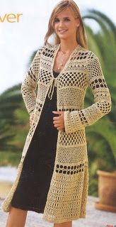 Croche and Other Fricotes: Coat Beige Lacy
