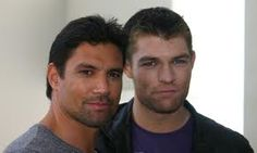 Manu Bennett and Andy Whitfield (R.I.P)