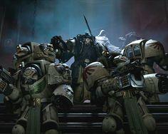 Space Hulk Deathwing, Warhammer 40k Art, Warhammer Models, Dark Angels 40k, Ps4, Warhammer Imperial Guard, Grey Knights, The Grim, Starcraft